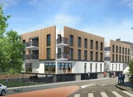 Résidence Le Musset – 32 logements étudiants et locaux – LE POINT IMMOBILIER