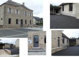 Restructuration du bâtiment mairie/école – Clergoux